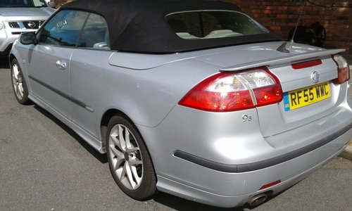 2005 SAAB 93   2,0 LTR  CONVERTIBLE  LOW MILES SOLD (picture 3 of 6)