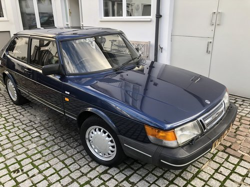 1992 Saab 900 with brand new MOT SOLD (picture 6 of 6)