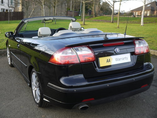 2007 Saab 9-3 2.0 T Aero 210bhp convertible Auto ONLY 49000 MILES For Sale (picture 3 of 6)