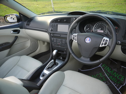 2007 Saab 9-3 2.0 T Aero 210bhp convertible Auto ONLY 49000 MILES For Sale (picture 6 of 6)