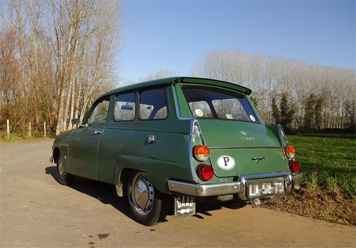1969 SAAB 95 V4 Station Wagon For Sale (picture 1 of 6)