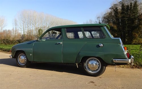 1969 SAAB 95 V4 Station Wagon For Sale (picture 2 of 6)