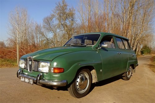 1969 SAAB 95 V4 Station Wagon For Sale (picture 4 of 6)