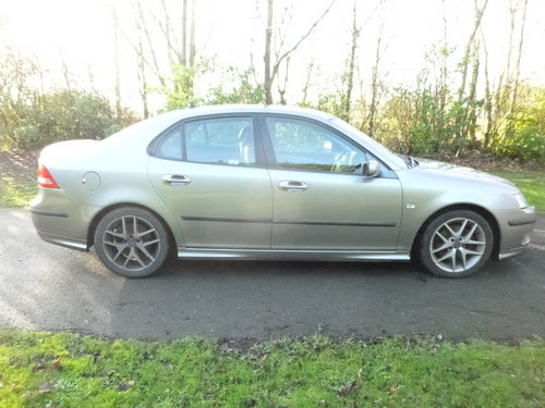 2006 Saab 9-3 aero project. Spares or repairs.  SOLD (picture 5 of 6)