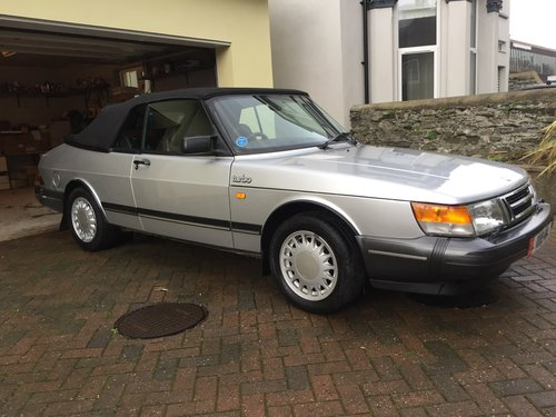 SAAB 900 2.0 TURBO CONVERTIBLE  (1987) **SOLD ** For Sale (picture 1 of 6)