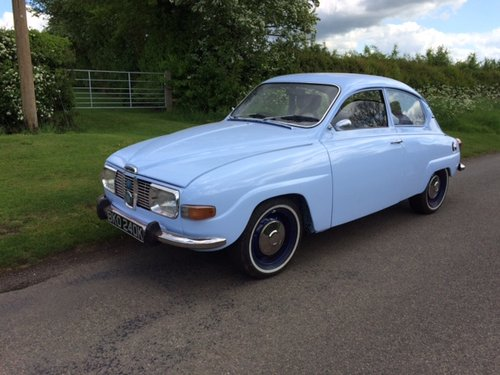 1972 Fully Restored Saab 96 V4 SOLD (picture 2 of 6)