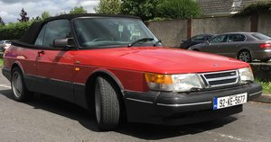 1992 Saab 900 Turbo Convertible with Charge Cooler For Sale