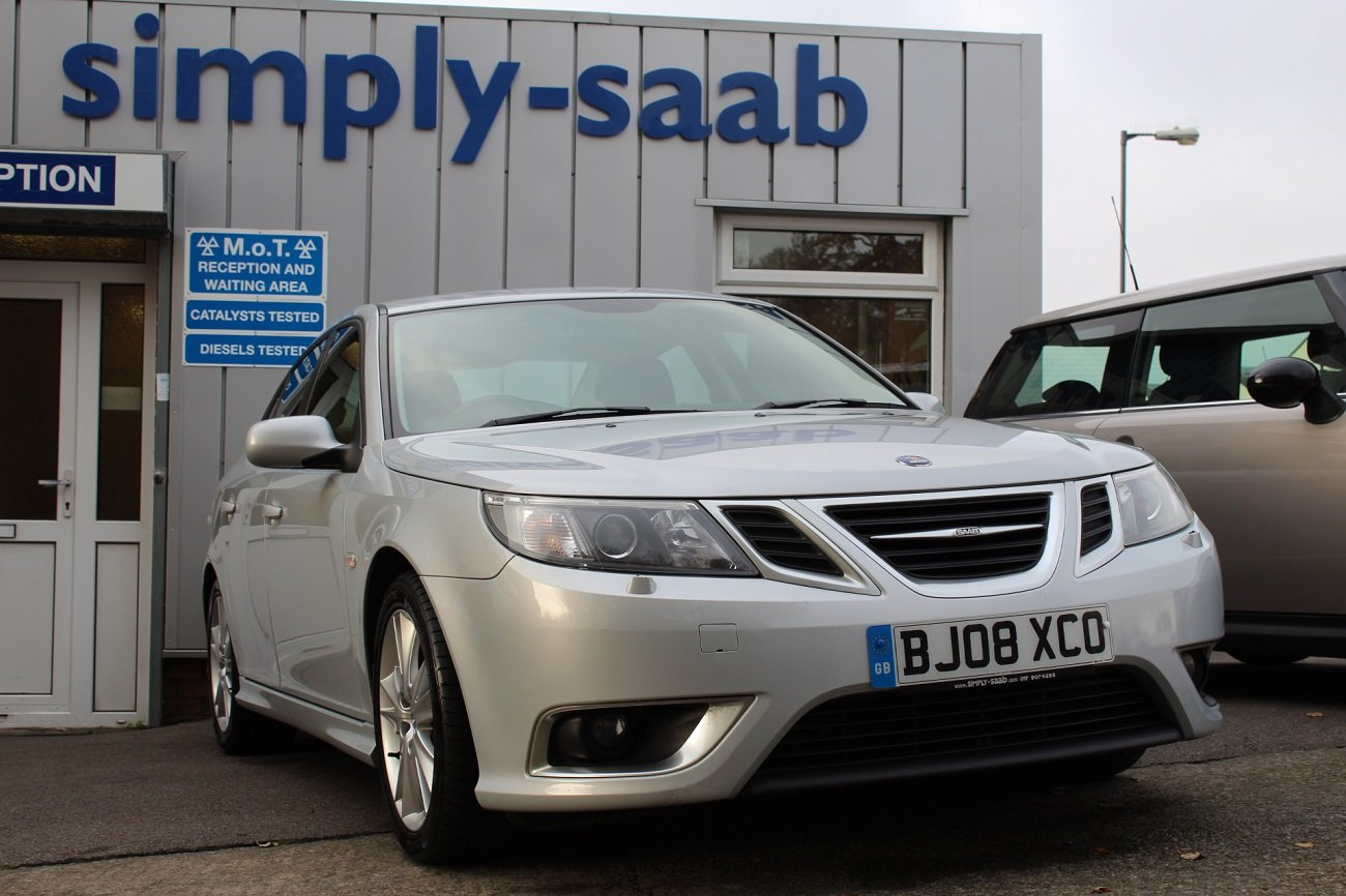 2008 Lovely Saab 9-3 TTID 180 Saloon For Sale (picture 1 of 6)