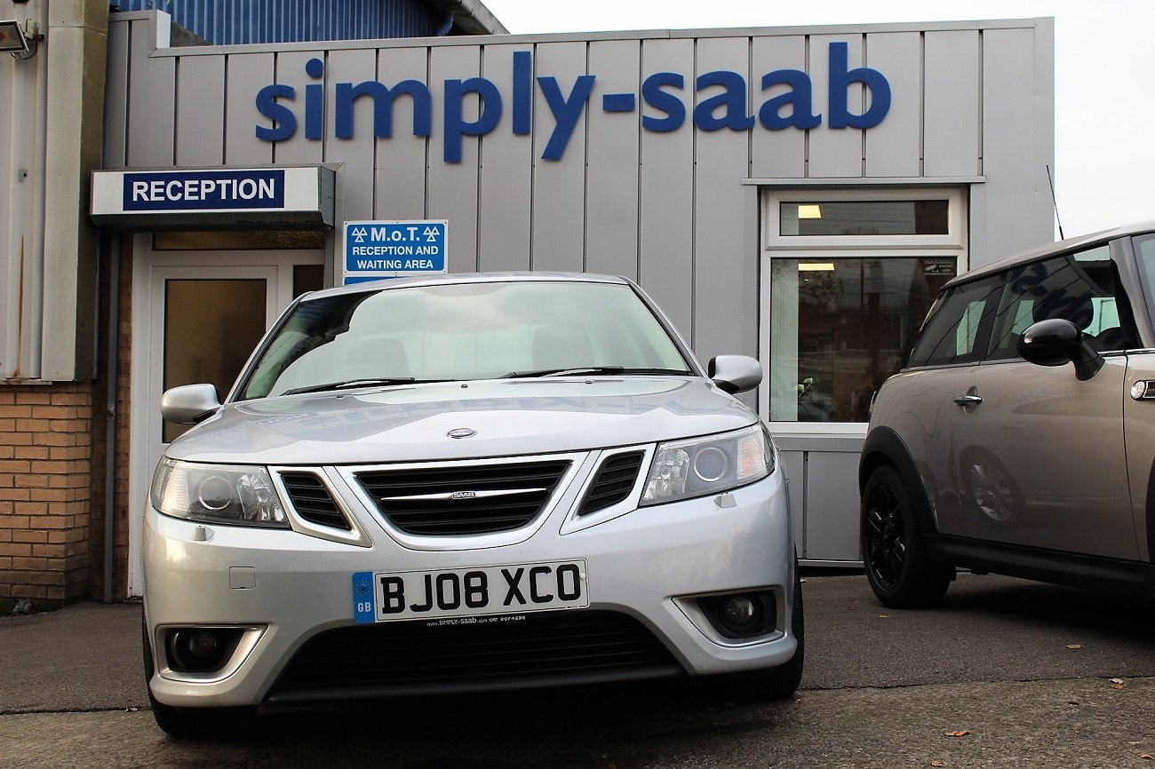 2008 Lovely Saab 9-3 TTID 180 Saloon For Sale (picture 2 of 6)