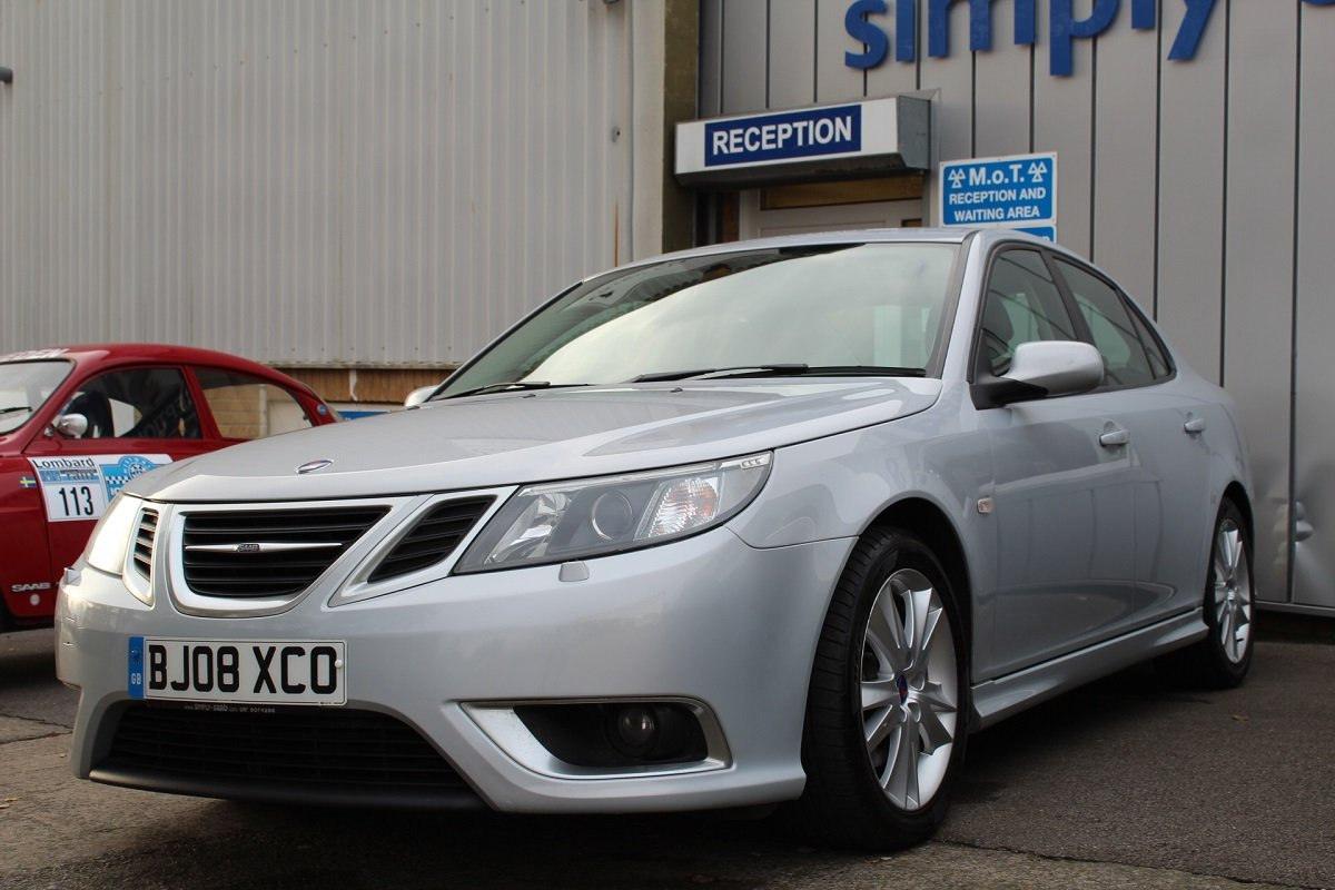 2008 Lovely Saab 9-3 TTID 180 Saloon For Sale (picture 3 of 6)