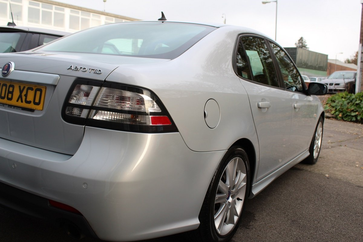 2008 Lovely Saab 9-3 TTID 180 Saloon For Sale (picture 4 of 6)