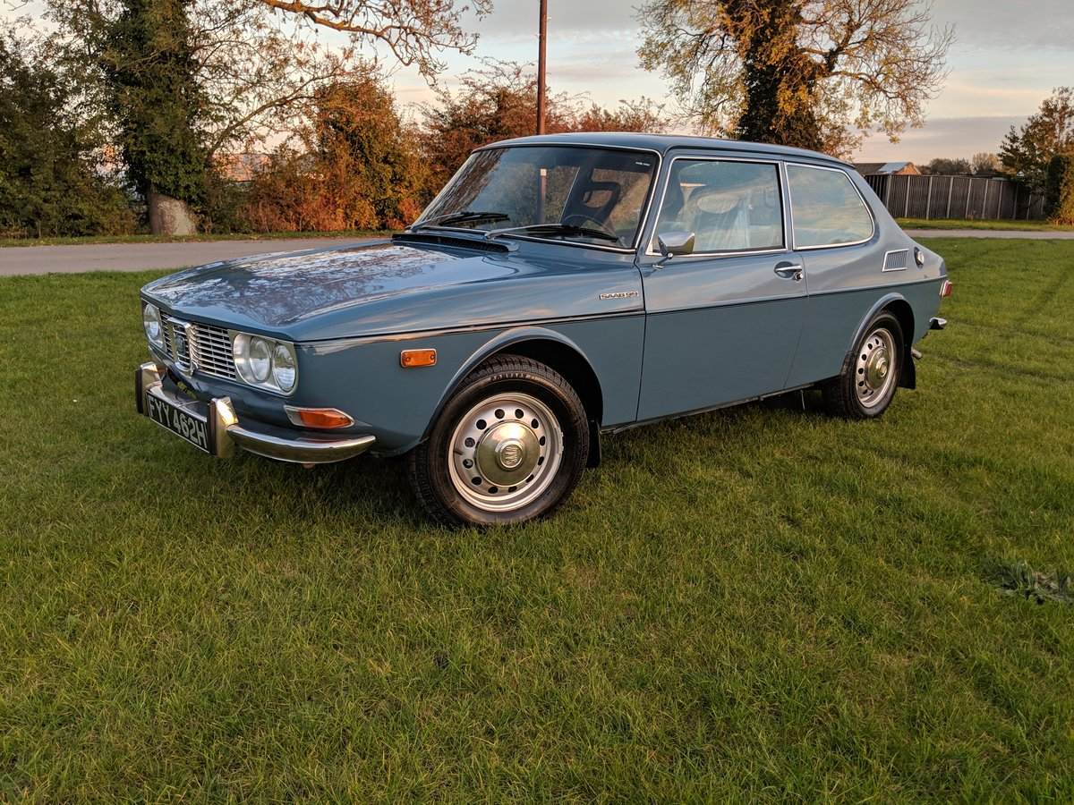 1970 SAAB 99 42000 Miles, California import For Sale (picture 6 of 6)