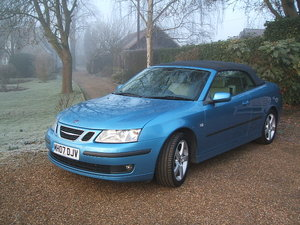 2007 Saab 9-3 Vector Auto Convertible 47,000 miles SOLD