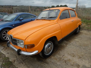 1974 Saab 96 V4 One previous owner Rare opportunity For Sale