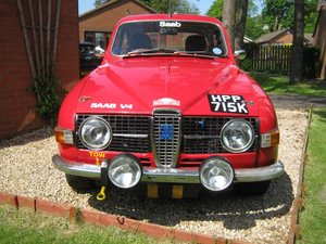 "1972 Saab 96V4 ""Rally look"" For Sale"