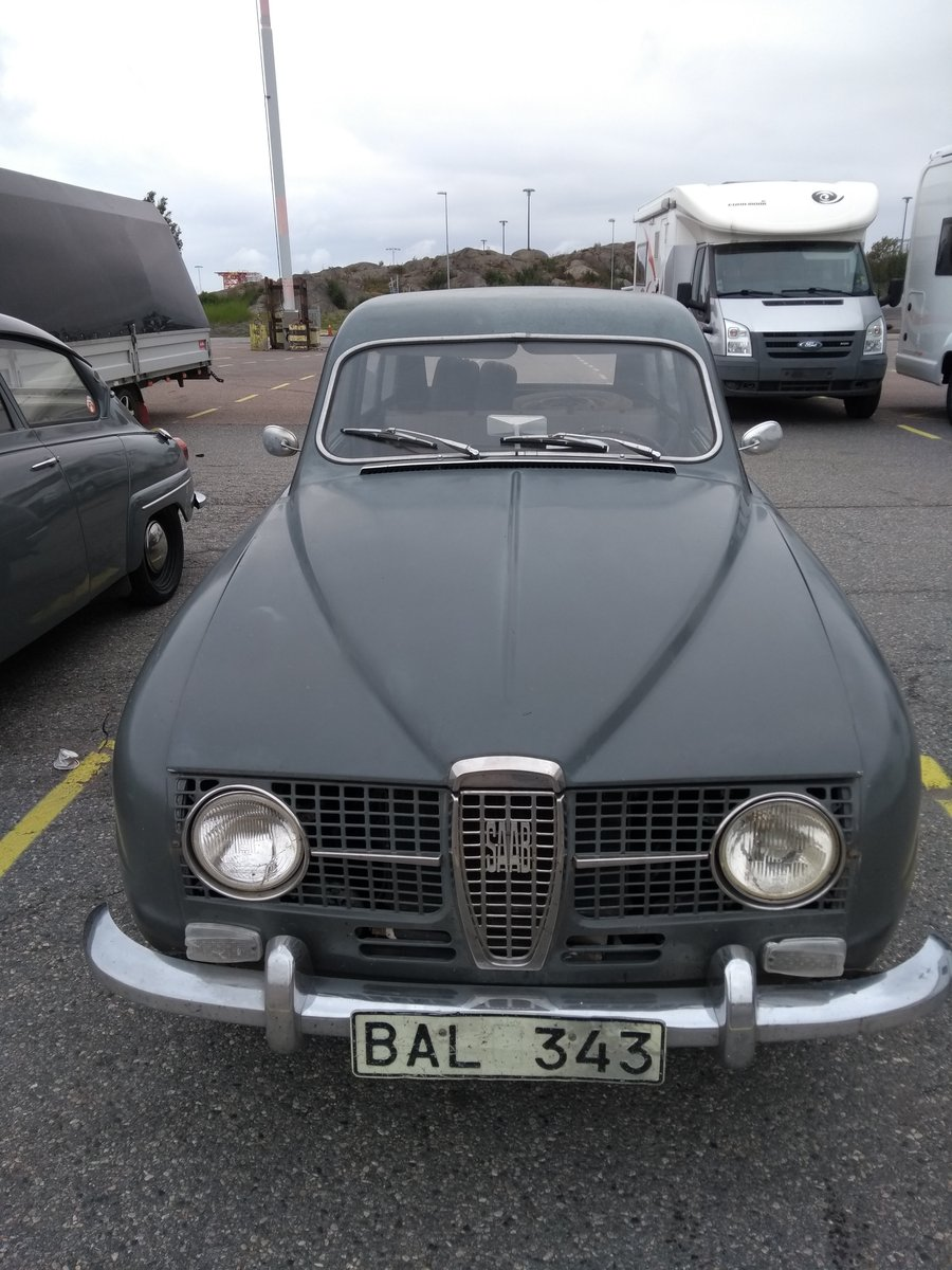 1965 Saab 95 Two Stroke Estate For Sale (picture 1 of 6)