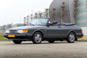 1990 Excellent Saab 900i Cabriolet LHD For Sale