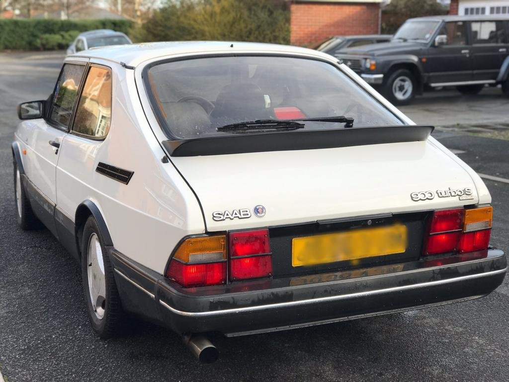 1992  SAAB 900 TURBO T16S *CIRRUS WHITE* SOLD (picture 2 of 6)