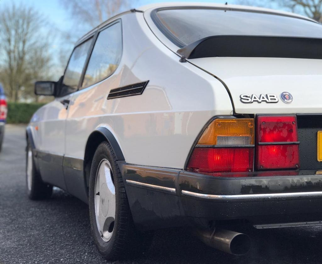 1992  SAAB 900 TURBO T16S *CIRRUS WHITE* SOLD (picture 3 of 6)