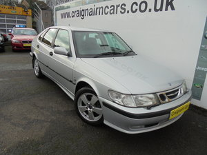 2002 51 SAAB 9-3 2.0 SE TURBO ECO 5 DR AUTO 22000 Miles FSH For Sale