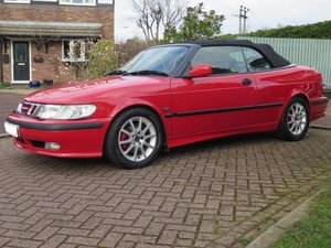 **MARCH AUCTION**2001 Saab 9-3 SE Turbo Convertible SOLD by Auction