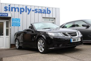 2011 Saab 9-3 CONVERTIBLE LINEAR SE TTID For Sale