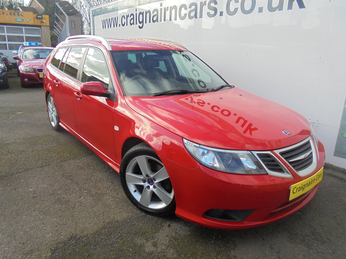 2010 60 SAAB 9-3 1.9TTiD Edition 180 BHP Estate  For Sale (picture 1 of 6)