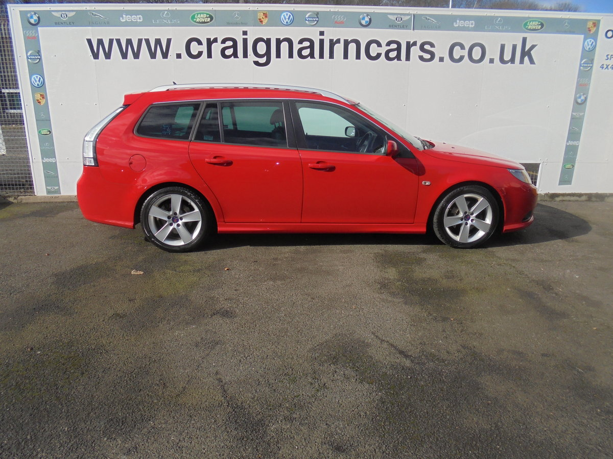 2010 60 SAAB 9-3 1.9TTiD Edition 180 BHP Estate  For Sale (picture 3 of 6)
