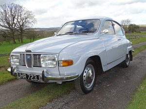 Superb 1971 Saab 96 V4, 68000 miles, new MOT  SOLD