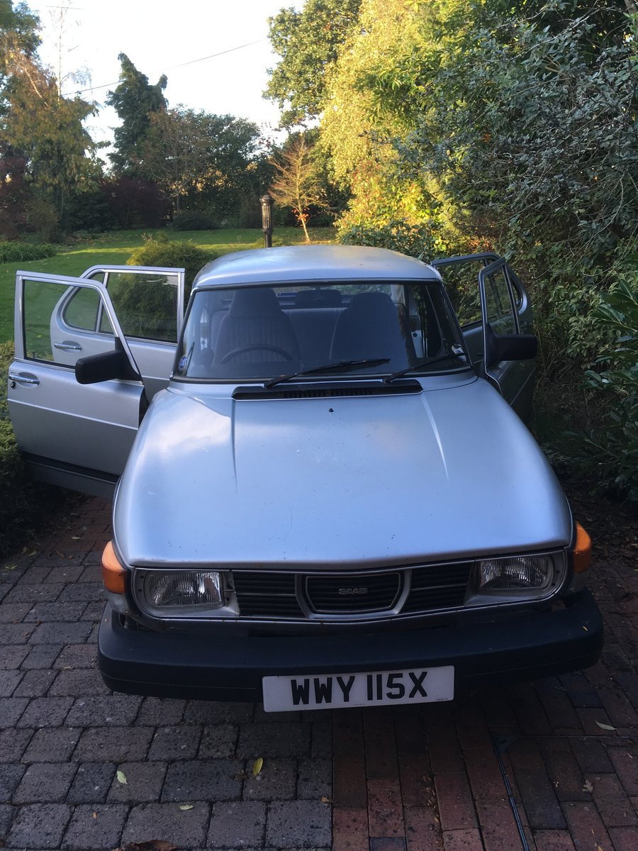SAAB 99GL 1982 For Sale (picture 1 of 6)