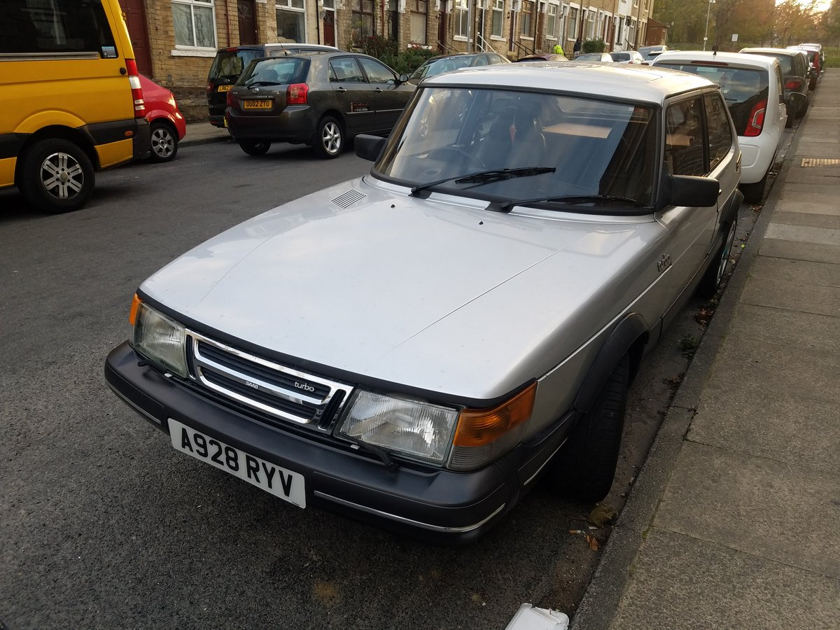 1983 saab 900 turbo For Sale (picture 2 of 6)