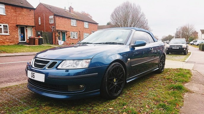 2006 Saab 9-3 Aero Convertible Auto 2.8t V6 For Sale (picture 3 of 6)