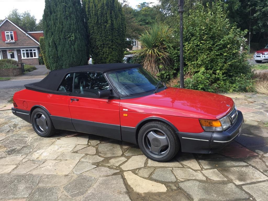 1992 SAAB 900 Turbo convertible  For Sale (picture 1 of 5)