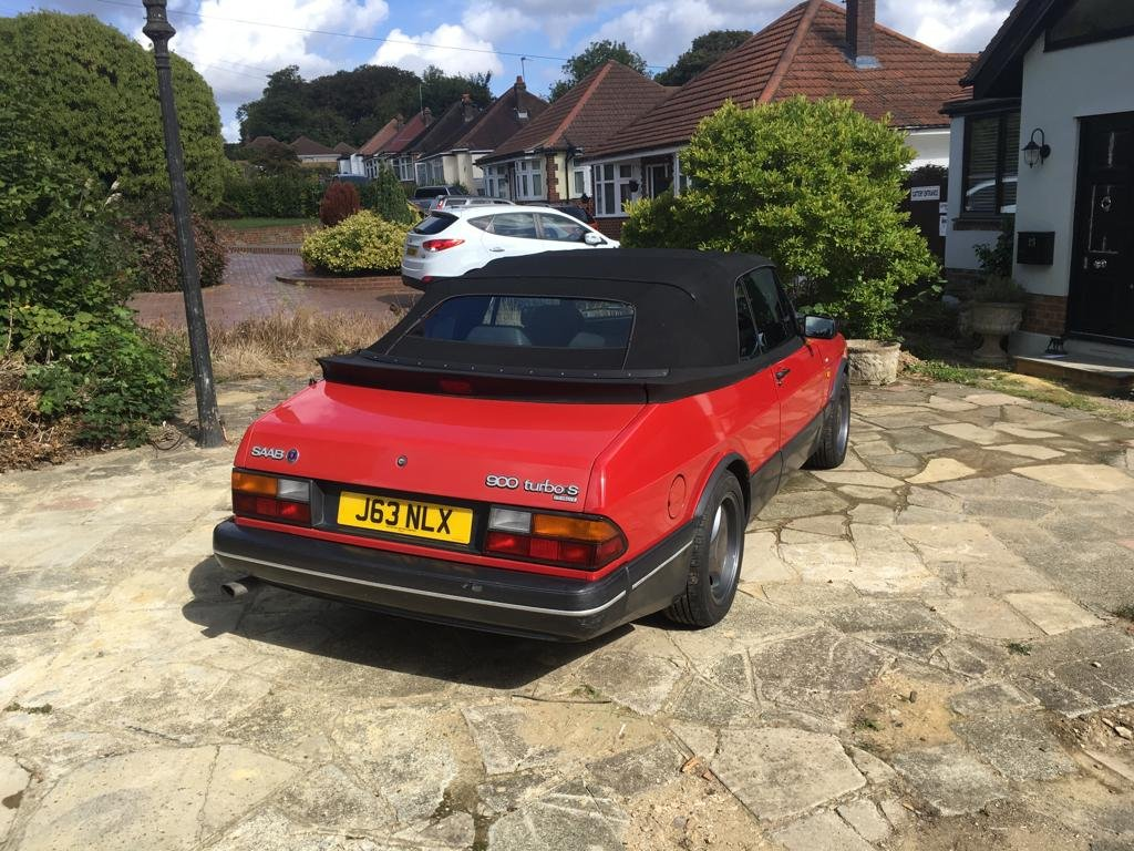 1992 SAAB 900 Turbo convertible  For Sale (picture 2 of 5)