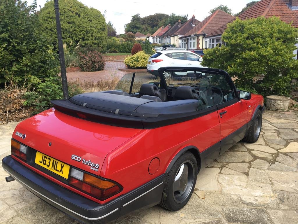 1992 SAAB 900 Turbo convertible  For Sale (picture 3 of 5)