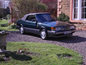 1992 For sale Classic Saab 900 convertible