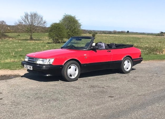 1992 SAAB C900 Turbo Convertible Areo.  SOLD (picture 1 of 5)