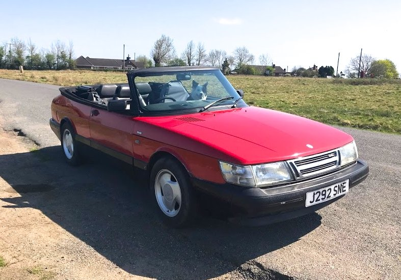 1992 SAAB C900 Turbo Convertible Areo.  SOLD (picture 2 of 5)