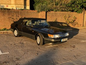 1993 Saab Classic 900 S Turbo Convertible For Sale