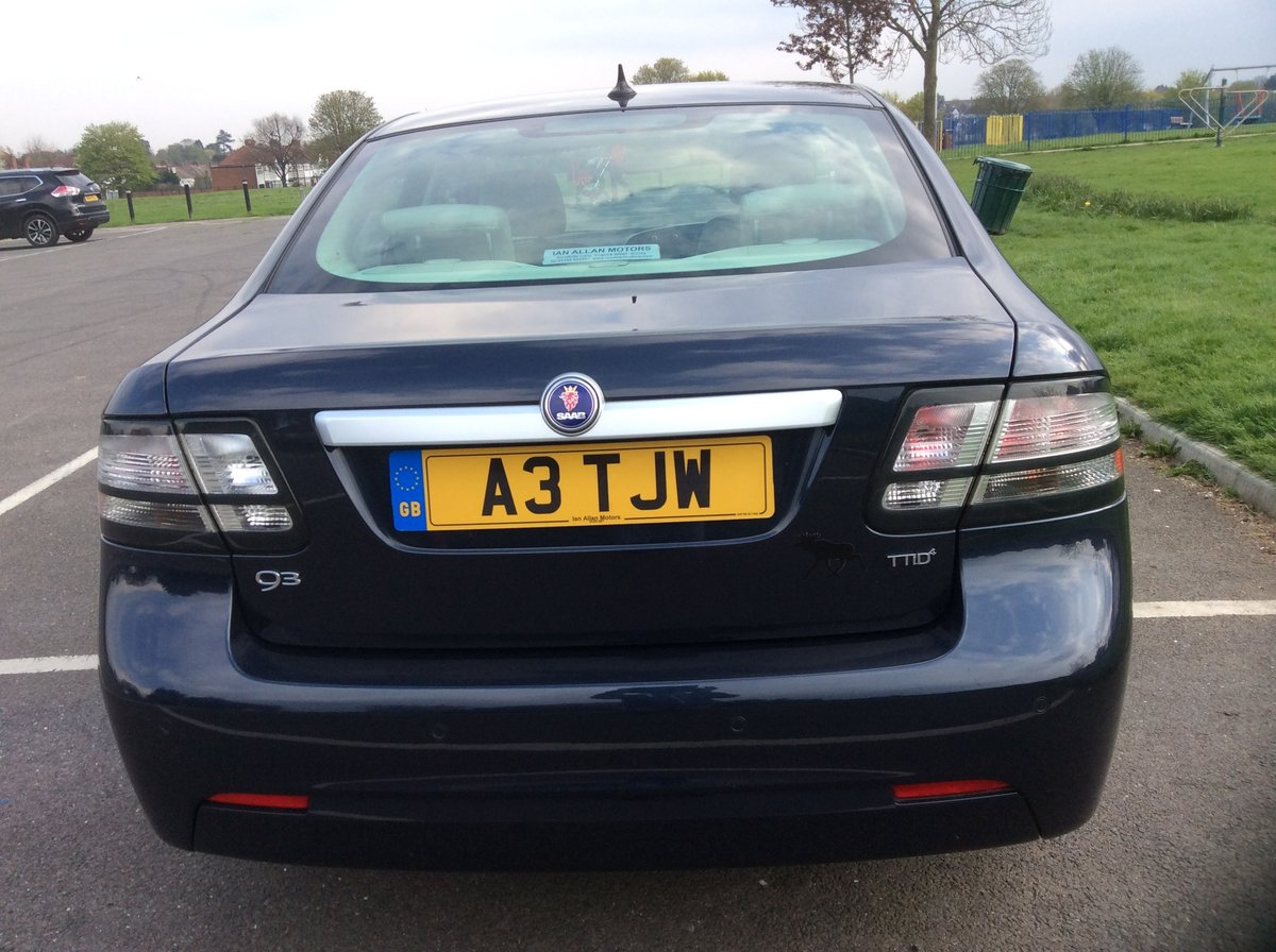 2011 SAAB 9-3 1.9 TTID EDiTiON For Sale (picture 4 of 6)