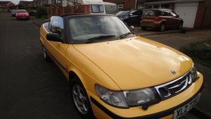 1999 My Sunny Yellow Saab For Sale