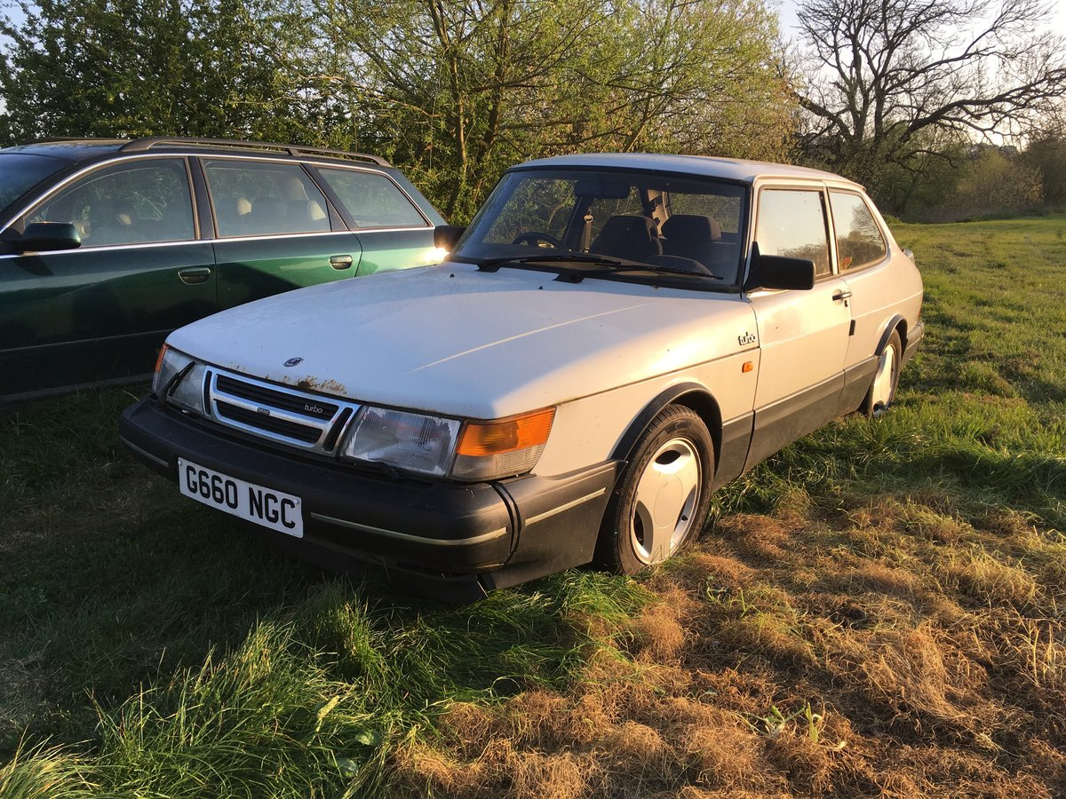 1989 Saab 900 Turbo 2 door saloon For Sale (picture 1 of 6)