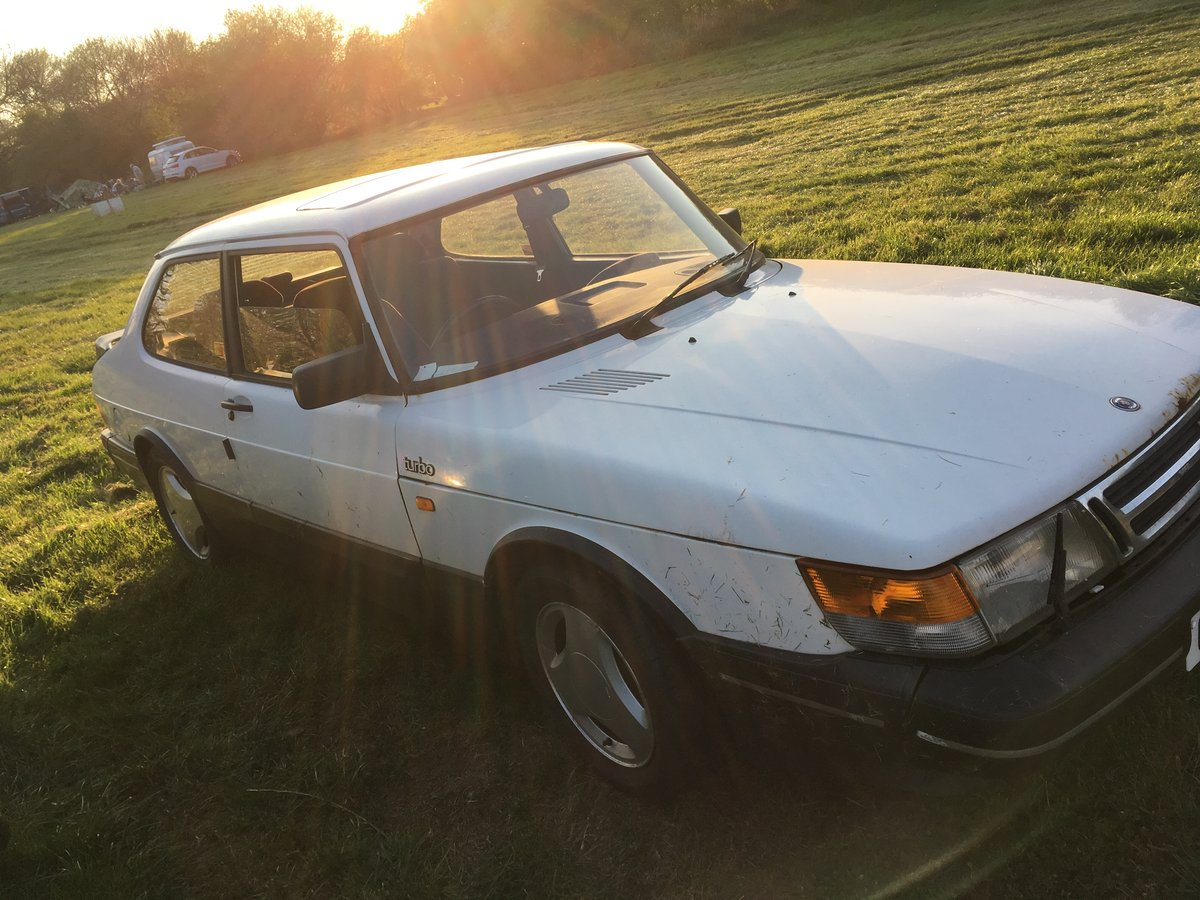1989 Saab 900 Turbo 2 door saloon For Sale (picture 2 of 6)