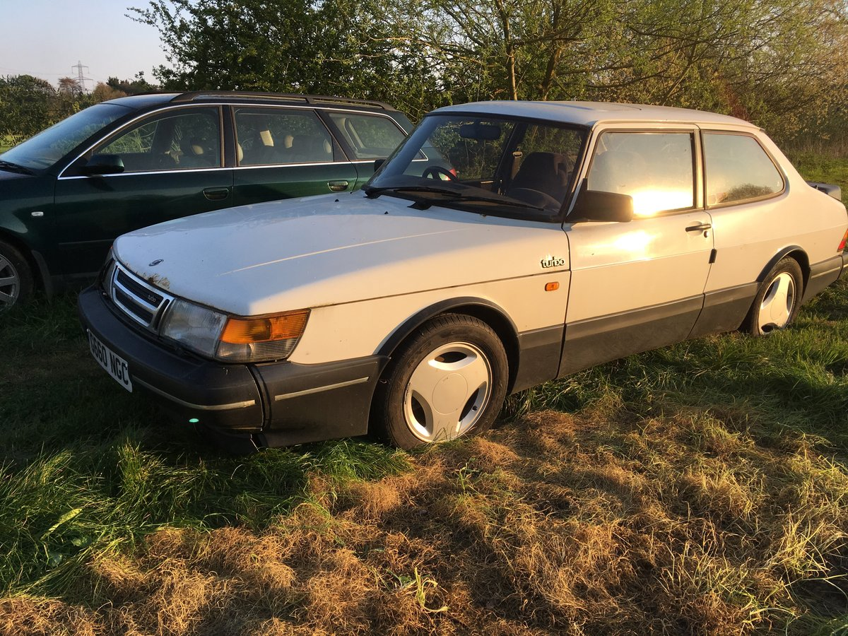 1989 Saab 900 Turbo 2 door saloon For Sale (picture 5 of 6)