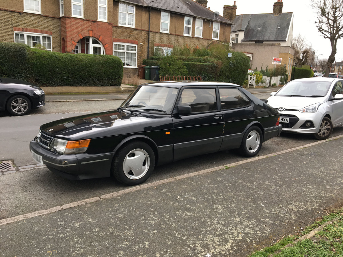 1993 Saab Classic 900 Turbo S 16v. Manual SOLD (picture 1 of 6)