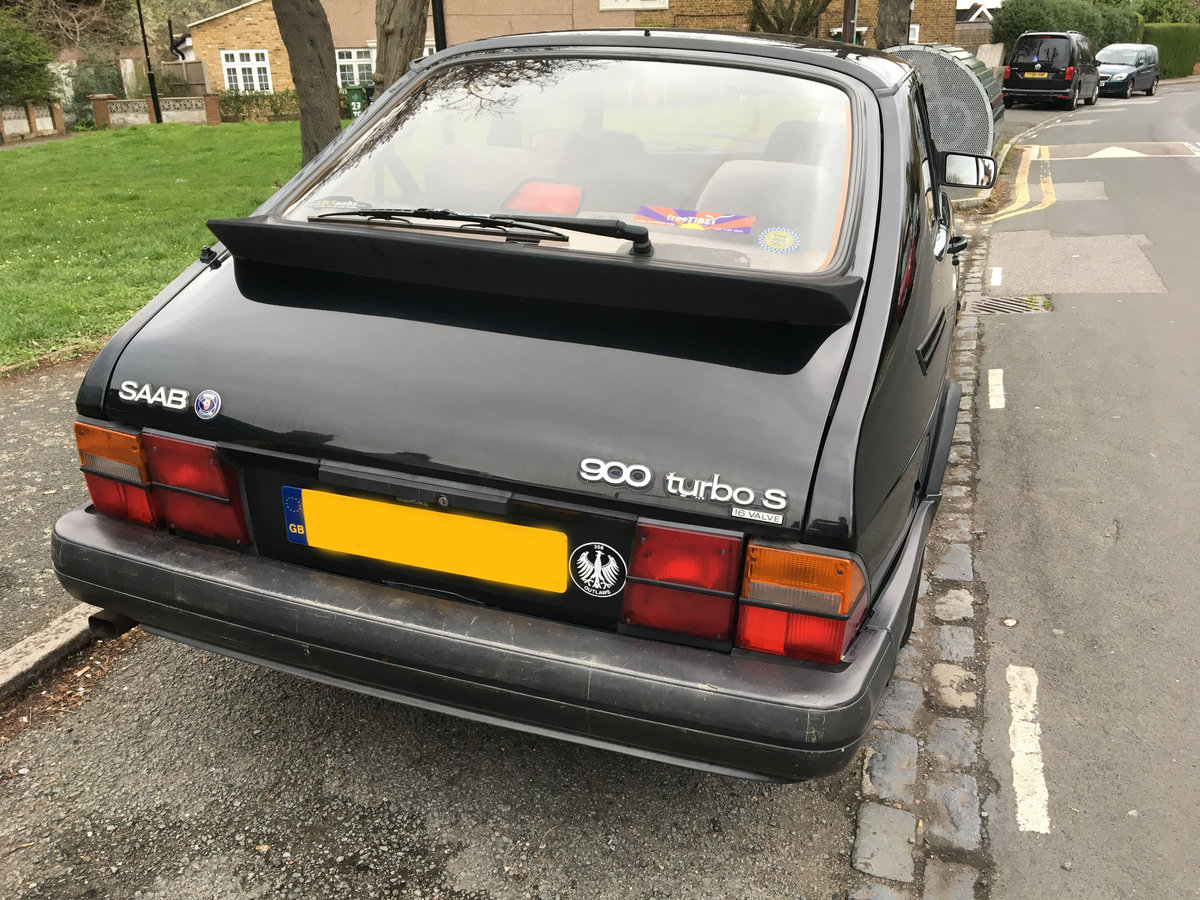 1993 Saab Classic 900 Turbo S 16v. Manual SOLD (picture 5 of 6)