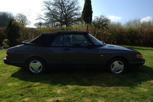 1990 Classic SAAB 900i Convertible For Sale