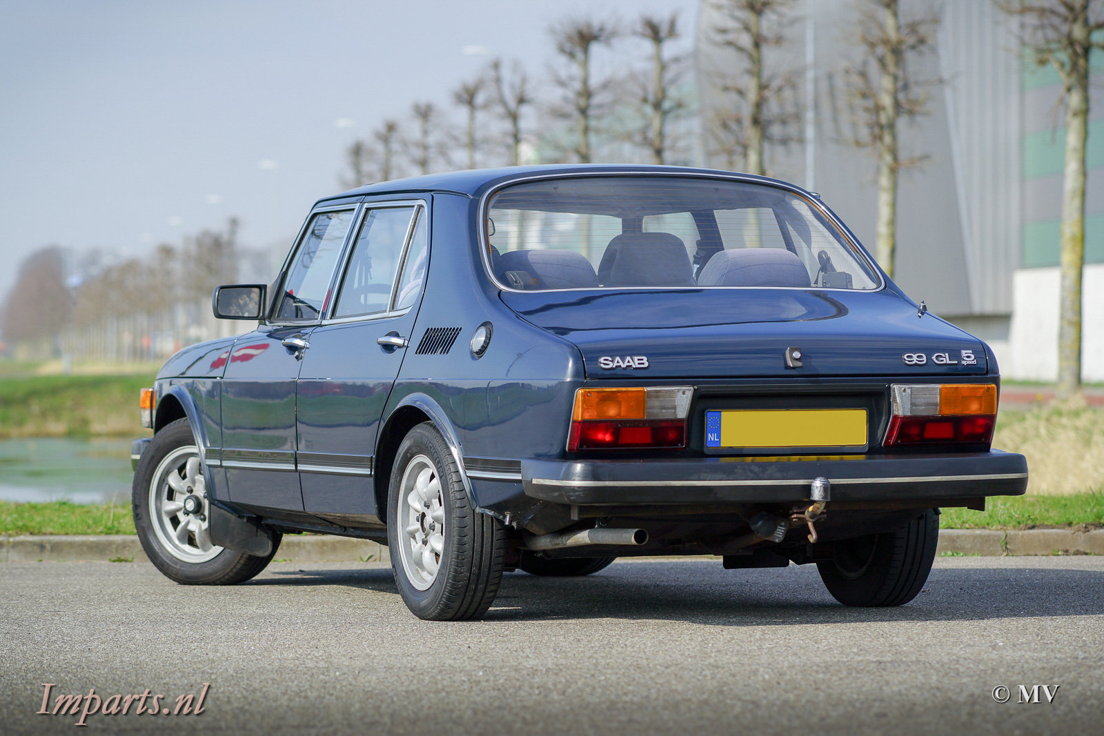 1983 very nice Saab 99 GL  speed For Sale (picture 6 of 6)