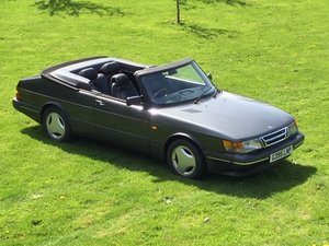 1990 Classic SAAB 900 T-16 Convertible (FPT 175bhp) For Sale