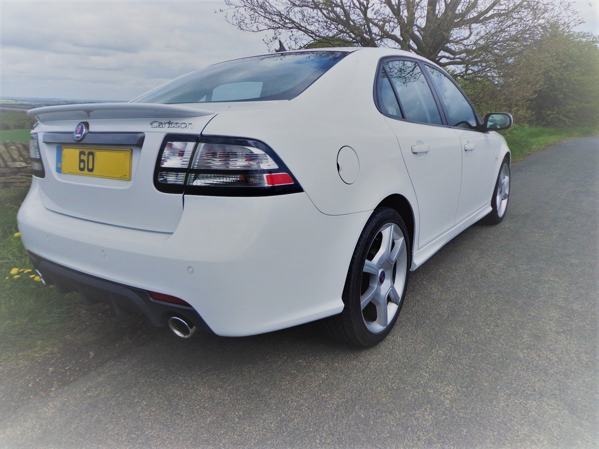 2010 MINT Saab 9-3 Carlsson 280bhp 2.8 V6 FSH  STUNNING For Sale (picture 2 of 6)